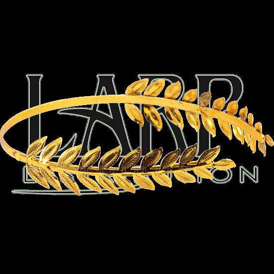 Brass Leaf Roman Hair Band