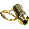 Brass Scout's Whistle Keychain