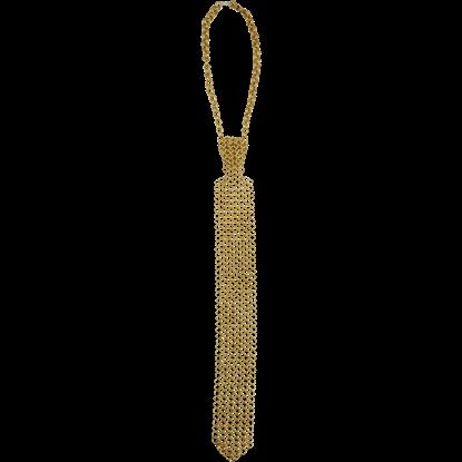 Brass Chainmail Tie