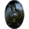 Black Auxiliary LARP Shield