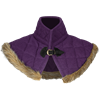 Nimue Fur Lined Wool Gorget