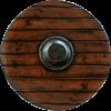 Drang Viking LARP Shield - Wood