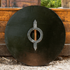 Drang Round LARP Shield - Wood