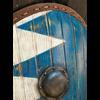Blue-White Norman LARP Kite Shield