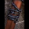 Barbed Wire LARP Bat - Wood