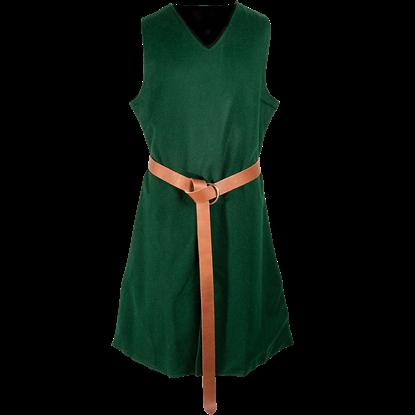 Knightly Wool Tabard - Green