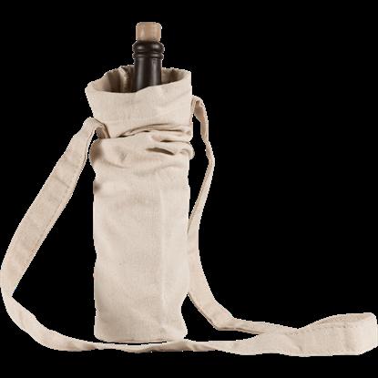 Canvas Bottle Bag - Ecru