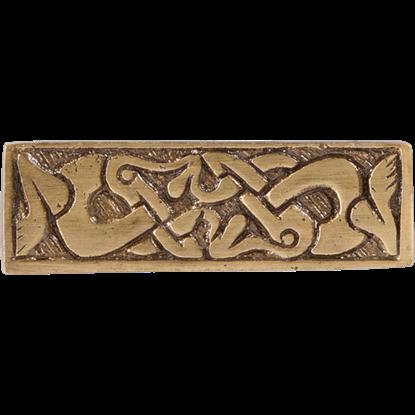 Brass Viking Belt Decoration