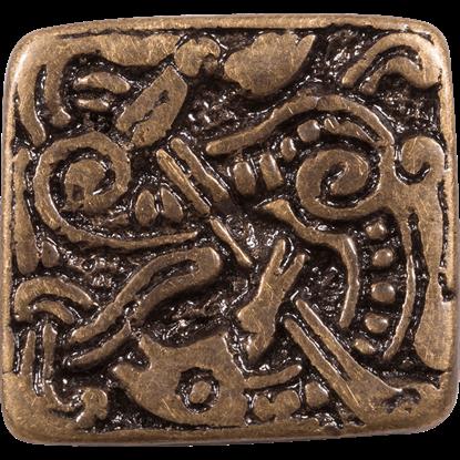 Brass Viking Belt Adornment