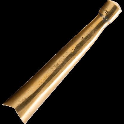 Brass Scabbard Tip - Medium