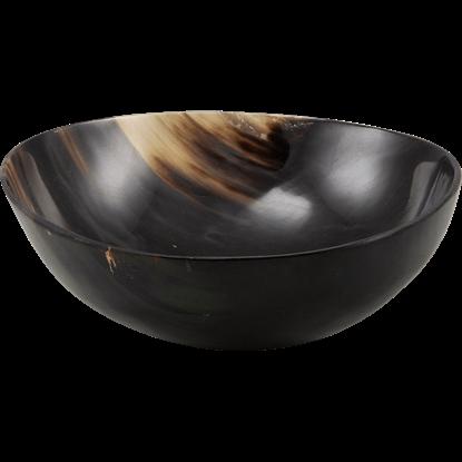 Medieval Horn Feasting Bowl