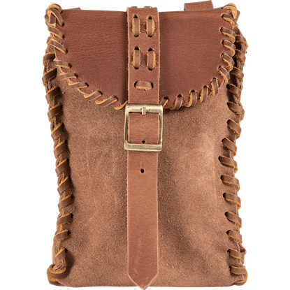 Traders Leather Bag - Brown