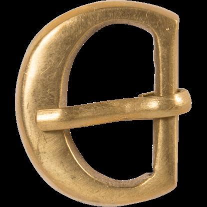 Simple Brass Strap Buckle
