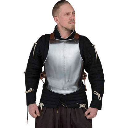 Ready For Battle Breastplate - Steel