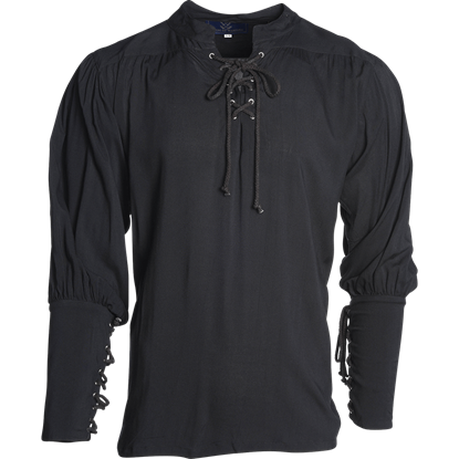 Essential Pirate Shirt - Black