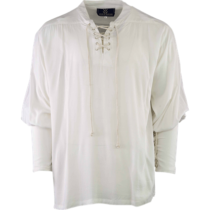 Essential Pirate Shirt - White