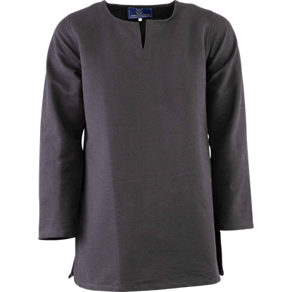 Long Sleeve Viking Tunic - Black