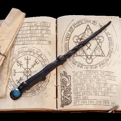 Druid LARP Wand - Black