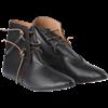 Black Medieval Peasant Boots