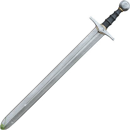 Knightly LARP Sword - Steel - 87 cm