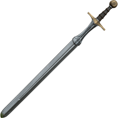 Knightly LARP Sword - Gold - 105 cm