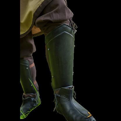 Scout Leg Guards - Epic Dark
