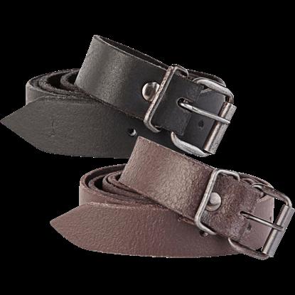 Doran Narrow Leather Belt